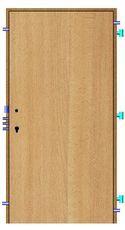 Bezpečnostní dveře Bedex  2R bez PO