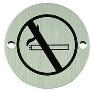 Označení zákaz kouřit kulatý piktogram