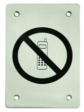 Označení zákaz telefonování kulatý piktogram