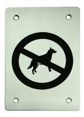Označení zákaz vodit psy piktogram