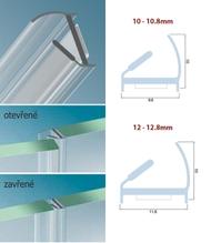 Profil G2G pro skleněné dveře