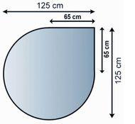 SKLENĚNÁ PODLOŽKA 8 mm L21.02.888.2