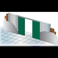 Stavební pouzdro Unitrex 1850 mm Doppio