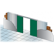 Stavební pouzdro Unitrex 2250 mm Doppio
