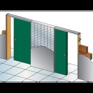 Stavební pouzdro Unitrex duo š.2x1100mm