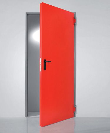 Dveře plechové se zárubní REV-R