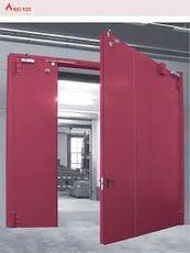 Ocelové vrata dvoukřídlo Hinged 3m x 3m