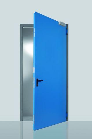Ocelové venkovní dveře Prog-T + zárubeň