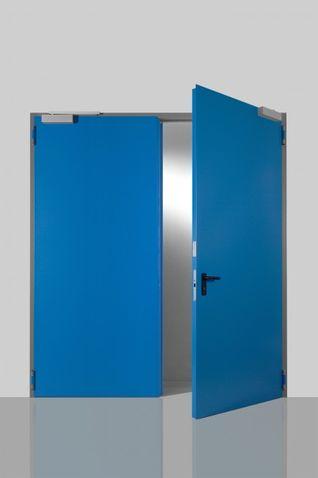 Ocelové venkovní dveře Prog-T dvoukřídlo