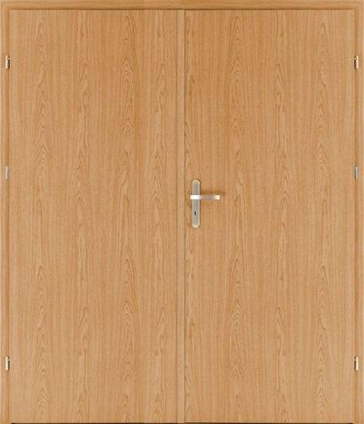 Protipožární dveře EI30 EW30 D3 dvoukřídlé