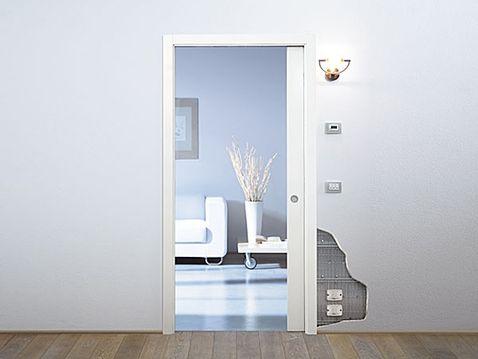 Stavební pouzdro Luce Eclisse zdivo jednokřídlo