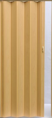 Shrnovací dveře lamelové dekor